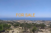 9015, 3.2 acres in Aspro Chorio with marvelous views!