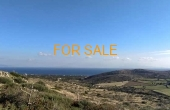 12013, 5,000 square meters of land behind Aspro Chorio, with remarkable views
